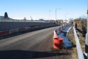 Weak bridge over the railway, Muir of Ord