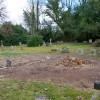 A corner of North Chailey churchyard