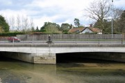 A140 road bridge over the River Tas in Newton Flotman