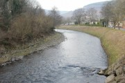 A bend in the river, Risca