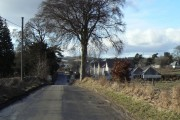 Entering Fowlis from the east
