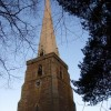 The spire at Peterchurch