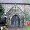 St Peter's church porch