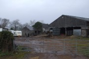 Farm buildings, Trecastell