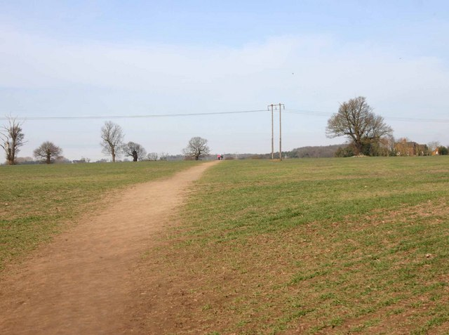 Footpath to Old Milverton and Saxon Mill