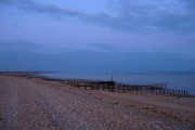 Pevensey Bay at Dusk