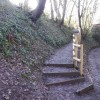 Steps up from canal, New Inn