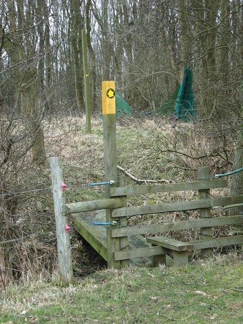 Stile, perimeter of Shawell Wood