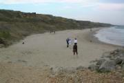Beach and cliffs East of Chewton Bunny