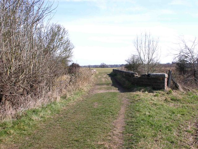 Footpath bridge over the railway, Old Milverton