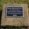 Golden Jubilee plaque, village green, Old Milverton