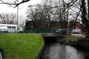 Beddington:  Bridge over the River Wandle