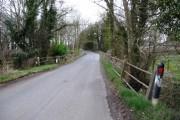 Bridge over small stream, Stonyford Lane