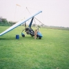 Microlight aircraft at Moggerhanger airfield