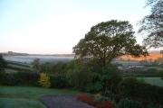 Dawn towards Dartmoor