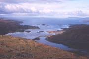 Loch Ailort from the slopes of An Stac