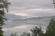 Looking SW along Loch Tay from Fearnan