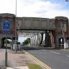 Sutton Road Bridge - Looking west