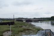 River Hamble and M27 road bridge
