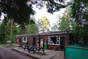Admin office and Camp Shop, Broadstone Warren Scout Campsite, Nr Forest Row, West Sussex