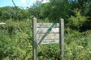 Entrance to the Woodland Trust's Hammond's Copse