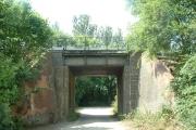 Railway bridge over bridleway