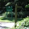 Bridleway & Golf Club entrance