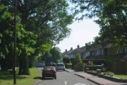 A road in Chiswell Green