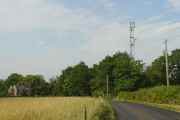 Telecoms mast, South Lodge, Pease Pottage, West Sussex