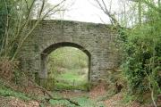 Bridge over disused Golden Valley Railway at Poolpardon ,Clifford