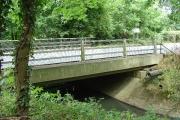Tinsley Bridge, over the Gatwick Stream, Tinsley Green, Crawley, West Sussex