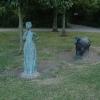 Bronze Statues, Birchwood Forest Park, Warrington