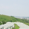 Sugar Loaf Hill and Caravans, Goodrington