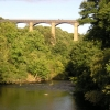 Just upstream from the Pontcysyllte Aqueduct