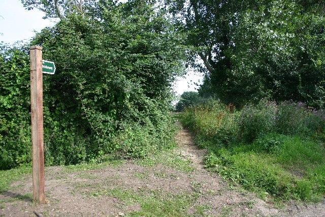 Bridleway at Hargrave