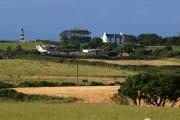 View from Lambhill to Cranstal footpath. Isle of Man.