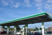 Solar powered Petrol Station