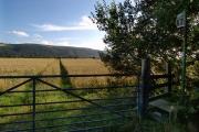 Footpath near the Garey.  Isle of Man.