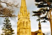 Leaton Church near Shrewsbury