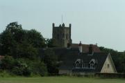 St Mary Magdalene & Cottage, Friston, Suffolk