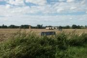 Straw bales, North Farm, East Carleton