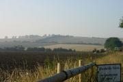 Hill north west of Mustards Farm near Leysdown-on-Sea