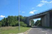 Road Bridge at  Luton  Park Town