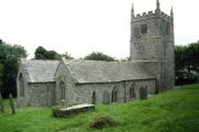 St Juliot Church nr Boscastle