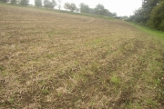 Sloping field, Nr Great Wratting, Suffolk