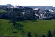 Rescorla Village from across the fields