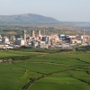 Aerial view Sellafield, Cumbria