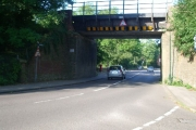 Railway bridge over Hare Lane, Claygate