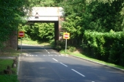 Railway bridge over Heath Road