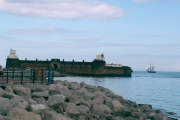 View of Fort Perch Rock